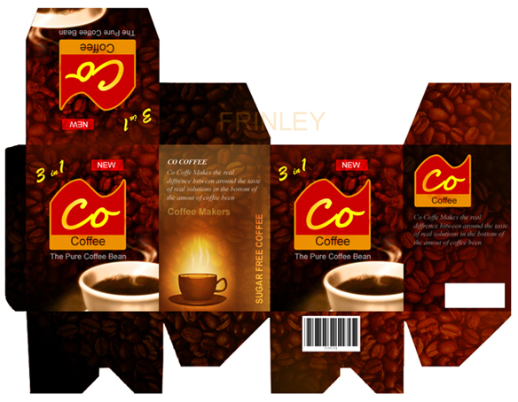 Hộp coffee, coffee package, thiết kế hộp cafe, in thùng cafe