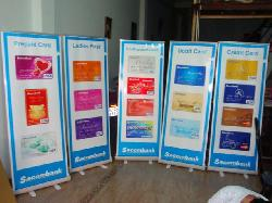 Banner cuốn, Rollup banner, giá cuốn-m2014
